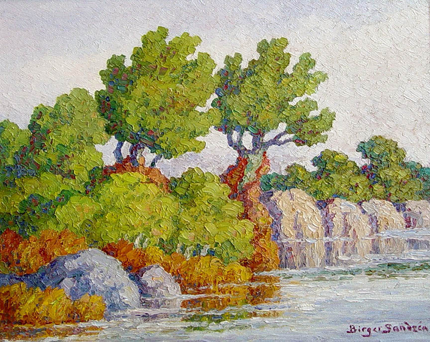 Birger Sandzen - Smoky Hill River